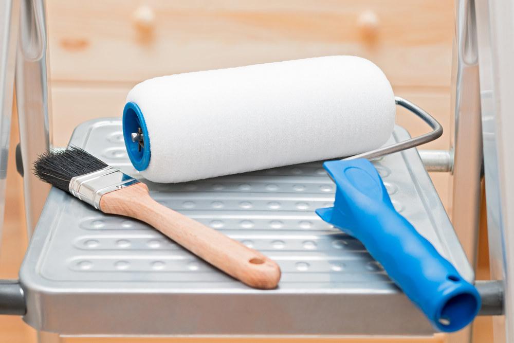 Инструменты для беления потолков