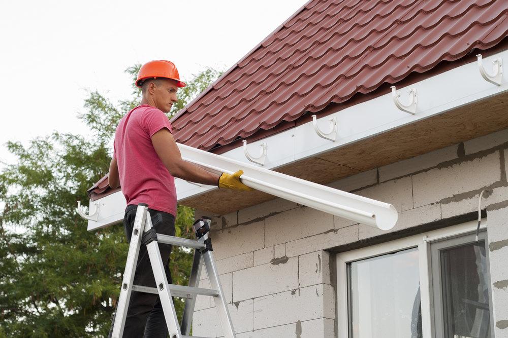 Комплектация водосточных систем для крыши