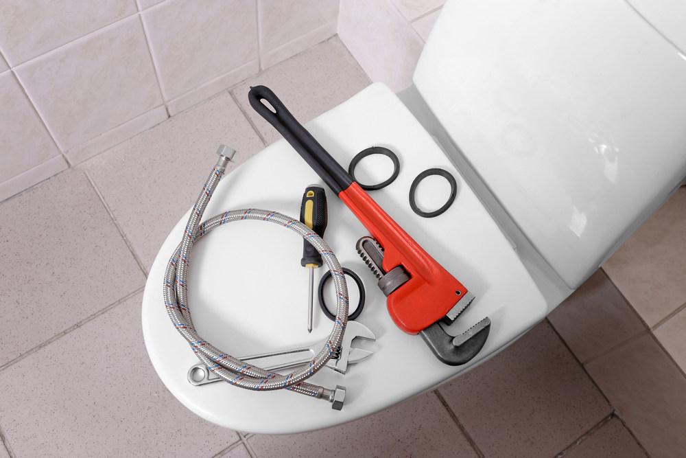 Инструменты для установки унитаза