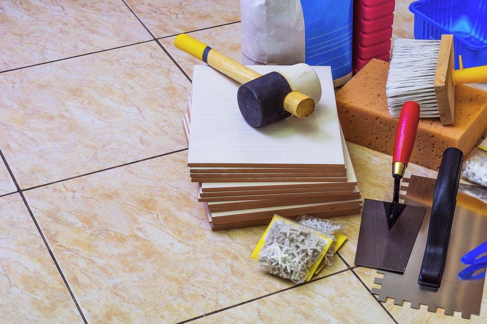 Инструменты для установки фартука на кухне