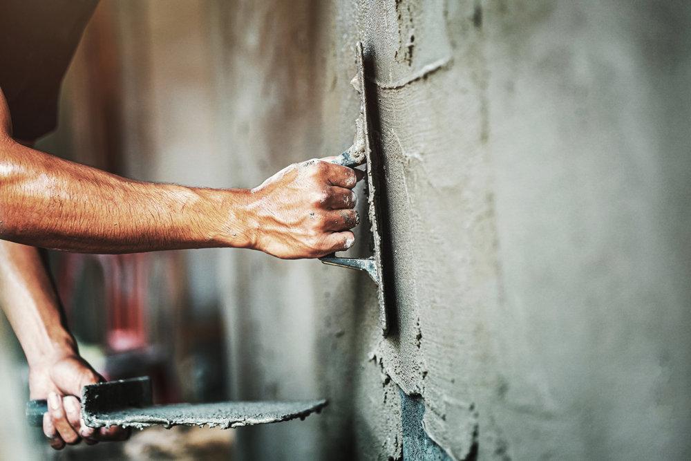 Что потребуется для штукатурки стен