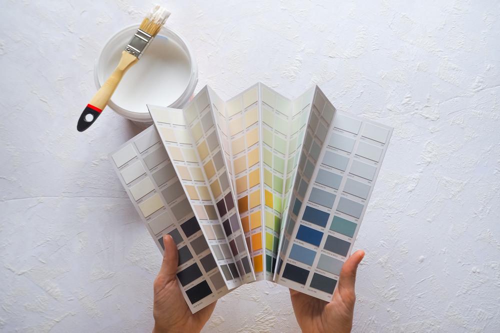 Характеристики красок для стен
