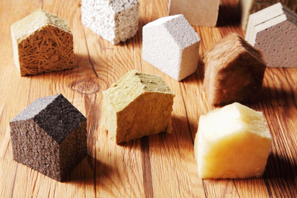 Виды материалов для утепления мансарды