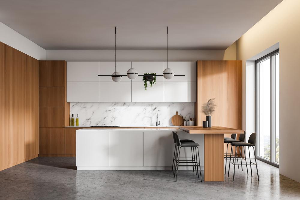 Нюансы и принципы отделки кухонных стен