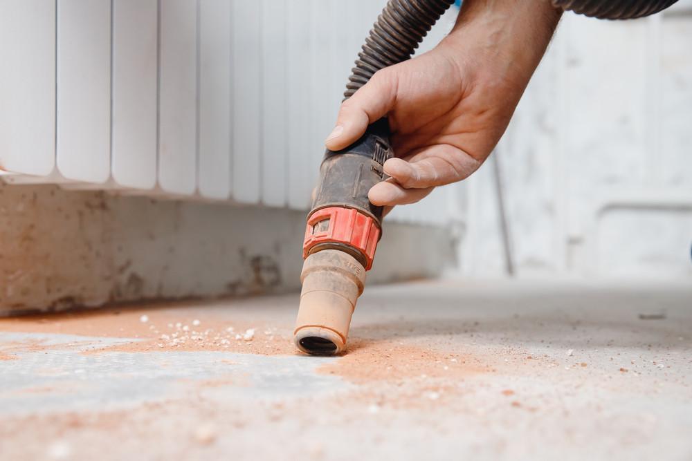 Дополнительные функции строительного пылесоса