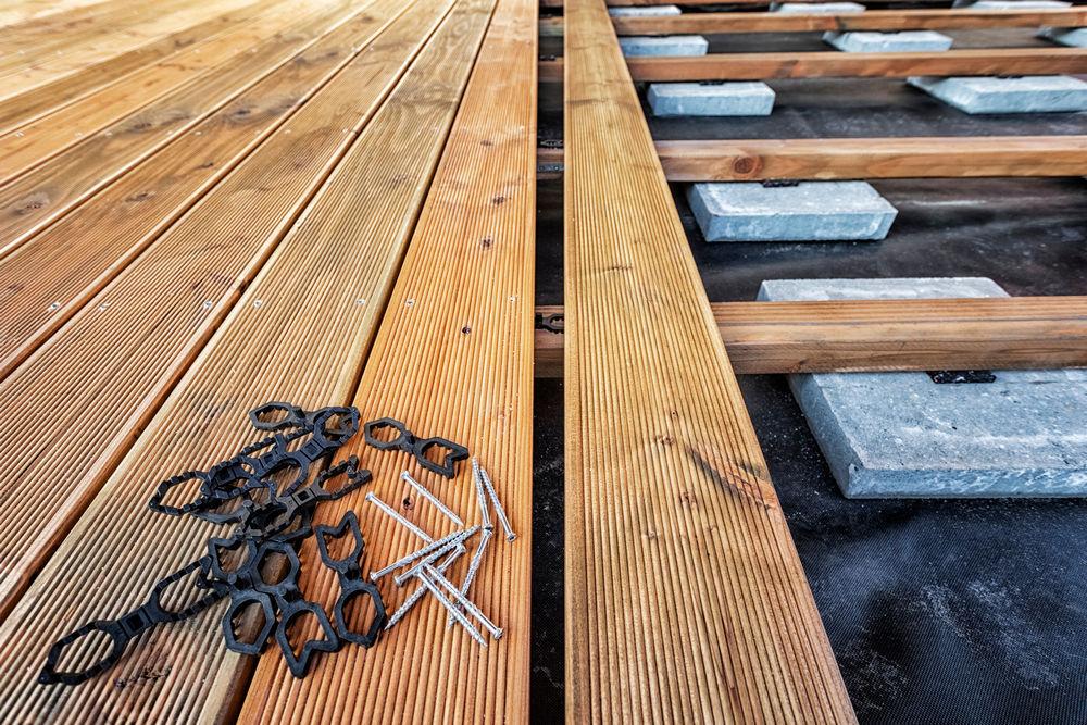 Подготовка к строительству веранды