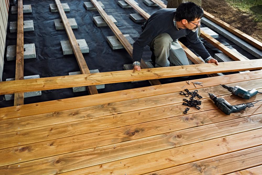 Этапы строительства веранды у дома