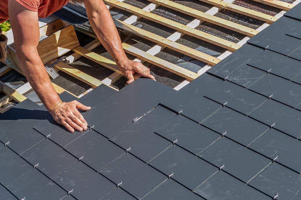 Этапы строительства односкатной крыши
