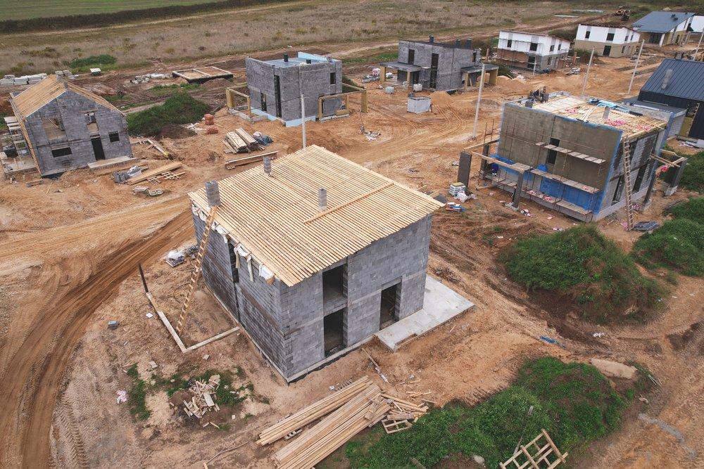 Подготовка к строительству крыши с одним скатом